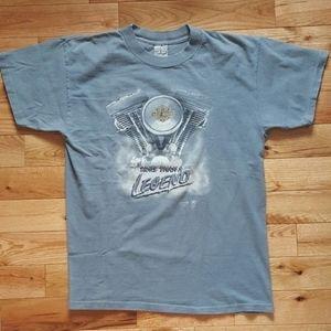 Harley-Davidson 3D Emblem 1989 T-Shirt Size Large